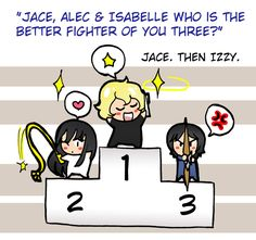Best fighter ... From Felwyn ... alexander 'alec' lightwood, the mortal instruments, isabelle lightwood, jace herondale
