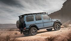 The Mercedes-Benz G 350 d marks the launch of a puristic variant