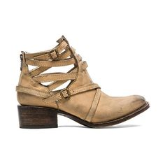 Freebird by Steven Stair Bootie Shoes (1,060 GTQ) ❤ liked on Polyvore featuring shoes, boots, ankle booties, booties, short boots, mid heel boots, mid heel ankle boots, mid-heel boots and back zip boots