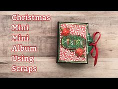 Christmas Mini Albums, Christmas Minis, Christmas Crafts, Thing 1, Country Crafts, Paper Crafts, Scrapbook, Projects, Log Projects