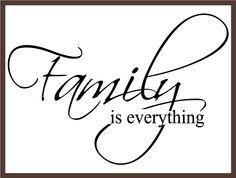 I  my family!