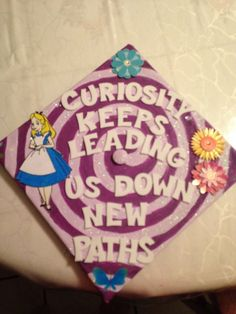 Alice in Wonderland Graduation Cap