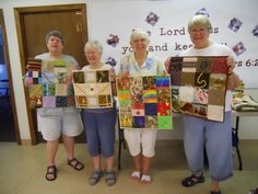 """Fidget Quilts"" made by my quilting group. Great for dementia patients."