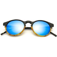 8df078eebd90 KYME SUNGLASSES - Miki Bonded Frame Sunglasses Blue Mirror Lens Blue  Mirrors