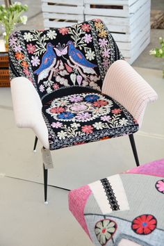#patchwork chair #lasilla #la silla https://www.etsy.com/shop/lasilladesign