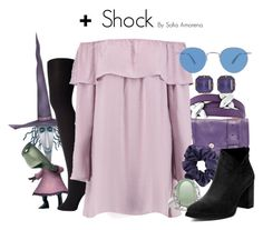 Shock by sofiaamorena on Polyvore featuring Boohoo, Falke, Proenza Schouler, Bling Jewelry and Loren Hope