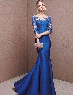 Fashion Mermaid Floral Lace Dress 2016 La Sposa 6629