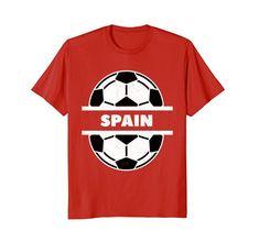 fdc2b928dbdc Soccer Football Spain Fan Shirt Soccer Spain Fans Shirts Co. For men women  kids shirts