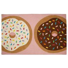 Donut Shop Kids Area Rug   The Land of Nod