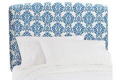 Upholstered Headboard, Indigo on OneKingsLane.com