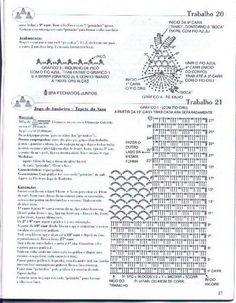 باترون طقم حمام كروشيه - crochet bathroom set pattern ~ شغل ابره NEEDLE CRAFTS