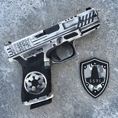 Wicked Storm Trooper Glock 19.  I think I really like this!