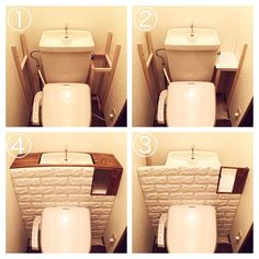 23 Clever DIY Christmas Decoration Ideas By Crafty Panda Entryway Decor, Diy Room Decor, Home Decor, Small Toilet Room, Floating Shelves Diy, Diy Interior, Diy Wood Projects, Home Crafts, Home Goods