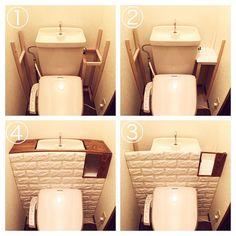 23 Clever DIY Christmas Decoration Ideas By Crafty Panda Entryway Decor, Diy Room Decor, Home Decor, Home Crafts, Diy And Crafts, Small Toilet Room, Toilet Design, Diy Interior, Diy Wood Projects