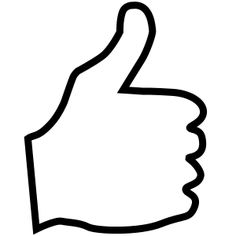 Thumbs Up by www.savanaprice.com, Thumbs up facing right