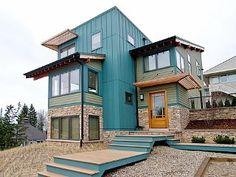 New Buffalo House Rental: Lake View - Fabulous Views, Steps To Lake Michigan Beach | HomeAway- WOW!!!