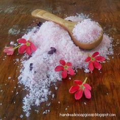 DIY Bubbly Bath Salts