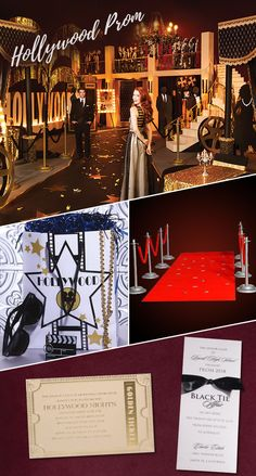 Hollywood Premiere La Land No Matter What You Call It A Prom Theme Is Always Fun Idea The Decorating Possibilities Are Endless