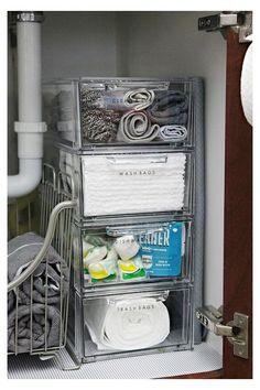 Kitchen Sink Organization, Sink Organizer, Bathroom Organization, Bathroom Storage, Kitchen Storage, Organization Ideas, Bathroom Ideas, Organizing Tips, Storage Organizers