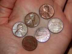 Copper pennies are valuable. (They're worth more than face value.) Here's a list of the copper pennies you should be looking for, and their current value.
