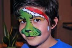 christmas face painting - Google Search