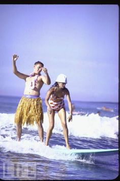 beginners, waikiki beach, hawaii, 1962 • john dominis • life magazine