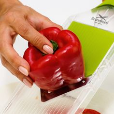 Mandoline Vegetable Slicer Cutter - Onion & Tomato Veggie V-slicer - Slice…