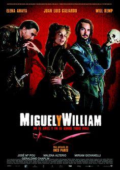 Miguel y William (DVD ESP PAR), pel·lícula que fantasieja sobre una trobada entre Cervantes i Shakespeare.
