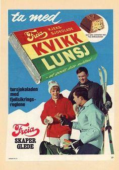 Kvikk Lunsj - Norwegian chocolate