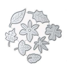 Metalen Papier Card Cutter Blad Combinatie DIY Decoratieve Embossing Stansmessen voor Scrapbooking Fotoalbum Decoratie