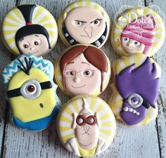 Despicable Me cookies