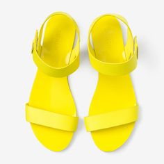 Easy On Sandal in Yellow yellow, women's shoes, women's casual shoes #dental #poker