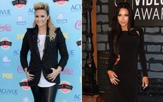 """Demi Lovato will play Santana's love interest on """"Glee."""" Naya Rivera spilled on the """"X Factor"""" judge's character at the 2013 MTV VMA red carpet."""