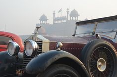 21 Gun Salute Rally - a Classic Car Event in New Delhi, India New Delhi, Delhi India, 21 Gun Salute, Automotive Photography, Antique Cars, Classic Cars, Guns, World, Rally