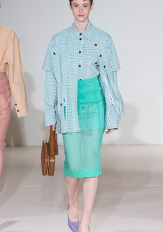 Victoria Beckham,Frühling/ Sommer 2018 New York Fashion, Spring Summer 2018, Victoria Beckham, Outfit, Runway, How To Wear, Style, Fashion Show, Cat Walk