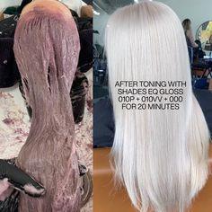 Best Home Hair Color, Redken Hair Color, Redken Hair Products, Hair Color And Cut, Hair Colour, Hair Color Formulas, Colored Hair Tips, Hair Patterns, Blonde Hair Looks