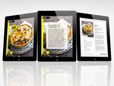 iPad Edition design & direction - Jamie Magazine by woz Brown, via Behance