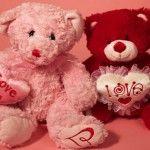 Cute Valentine's Day Teddy Bear Facebook Cover Photos