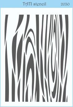 Трафарет объёмный TATI stencil 2030