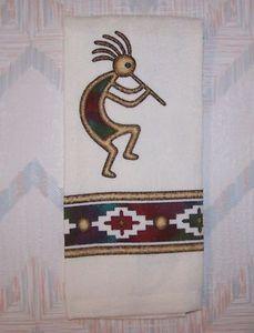 Kokopelli Kitchen Terry Towel