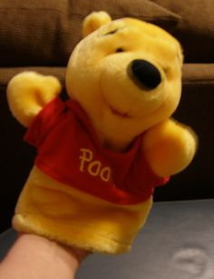 "Winnie The Pooh 9""-10"" Hand Puppet"