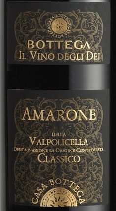 Top Italian Wine scoring 95 or higher | Bottega Amarone Della Valpolicella 2006 Wine Review #ItalyWine