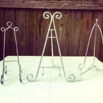 Silver Easels