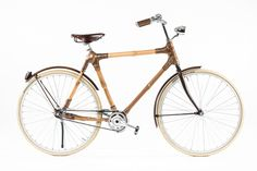 Bamboo Bikes by Blackstar: harnessing ghana's bamboo harvest, the dutch company's desire was to produce a bike from the sustainable material for urban transport, which while being ecologically sustainable and stylish, was also a socially responsible venture providing immediate economic benefits to the local community.