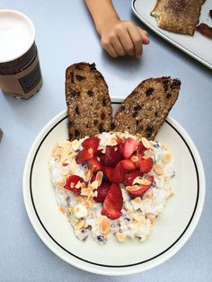 Breakfast Date and Chilled Almond Berry Swiss Oatmeal Recipe from @CornerBakery - www.cupcakesandcutlery.com