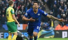 Leonardo Ulloa comes off bench to inspire Leicester to late victory over Norwich