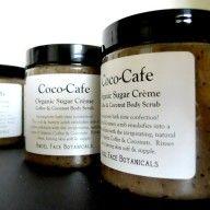 Coco-Cafe Sugar Crème - Organic Coffee & Coconut Body Scrub by Angel Face Botanicals