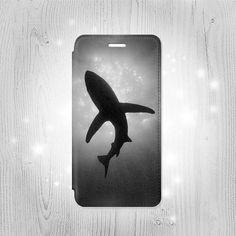 Shark Monochrome iPhone 6S 6 Plus 6 SE 5 5S 5C 4 by Lantadesign