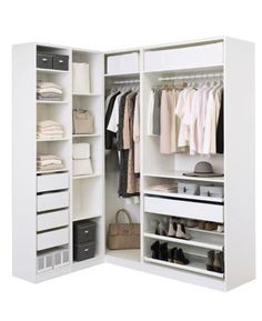 Ideas Corner Wardrobe Closet Ikea Pax For 2019 Corner Wardrobe Closet, Ikea Pax Closet, Ikea Pax Wardrobe, Bedroom Wardrobe, Built In Wardrobe, Wardrobe Storage, Bedroom Closet Design, Master Bedroom Closet, Ikea Bedroom