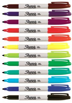 The Sharpie blog - I love Sharpies. I love all pens and stationery, it thrills me buying a new pen. I need to get out more. ;)